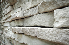 Modern wall. The new design of modern wall Royalty Free Stock Photo