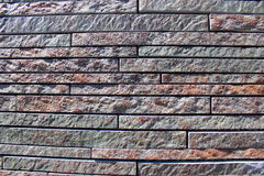 Stone wall cladding Stock Images