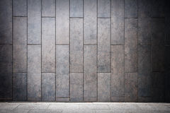 Modern wall Royalty Free Stock Photography