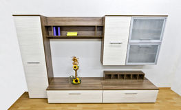Modern wall unit stock images