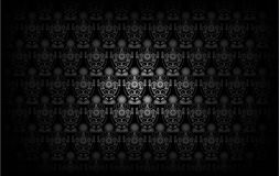 Modern Wallpaper Pattern. Background for Your design. Dark cover Stock Photography