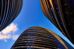 Wangjing SOHO, Beijing Stock Photo