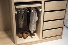 Modern Wardrobe Stock Image