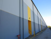 Modern warehouse Royalty Free Stock Photography