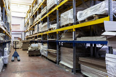 Modern warehouse Royalty Free Stock Photo