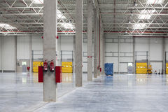 Modern Warehouse Royalty Free Stock Photo