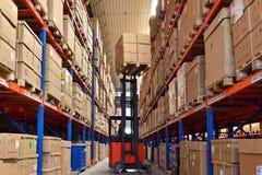 Modern warehouse Royalty Free Stock Photos