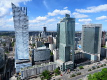 Modern Warsaw stock images