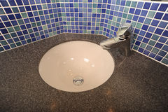 Modern wash basin design Royalty Free Stock Photos
