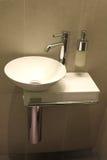 Modern washbowl Royalty Free Stock Photos