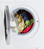 Modern Washing Machine Royalty Free Stock Photography