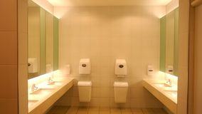 Modern washroom and sanitary facilities in a public building, Germany Europe stock photos