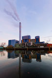 Modern waste-to-energy plant Oberhausen Germany Royalty Free Stock Photos