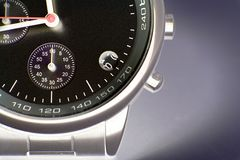 Modern Watch - macro Stock Images