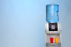 Modern water cooler Royalty Free Stock Photos
