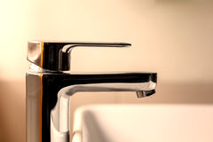 Modern water tap Royalty Free Stock Images