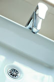 Modern water tap Stock Images