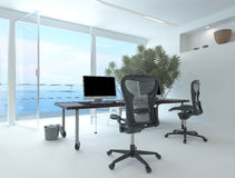 Modern waterfront office interior Royalty Free Stock Photography