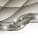 Modern wave folder light abstract design. Vector illustration Royalty Free Stock Photography