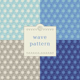 Modern wave pattern Royalty Free Stock Photography