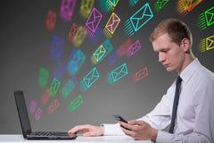 Modern way of communication Stock Photos