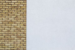 Modern weathered brick wall background Stock Images
