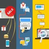 Modern web activities Stock Photography