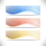 Modern web banner templates collection Stock Photos