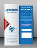 Modern web card  form. Modern web card login form Stock Photo