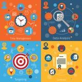 Modern web concepts set Stock Photos
