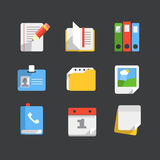 Modern web icons collection Stock Images