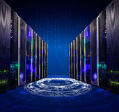 Modern web network and internet telecommunication technology, big data storage cloud computing computer service business. Modern web network and internet royalty free stock photo
