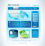 Modern website template Stock Images