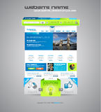 Modern Website TEmplate Stock Images