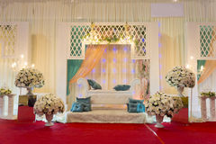 Modern wedding stage Royalty Free Stock Images