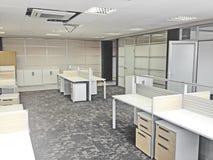 Modern Werkend bureau Royalty-vrije Stock Foto's