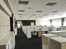 Modern Werkend bureau Stock Foto