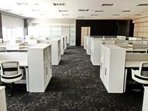 Modern Werkend bureau Stock Afbeeldingen