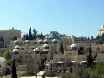 Modern western Jerusalem Stock Photography