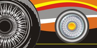 Modern wheel Royalty Free Stock Photography