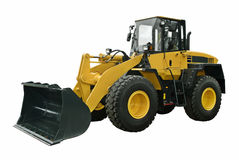 Modern wheel loader Royalty Free Stock Images