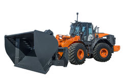 Modern wheel loader Stock Photo