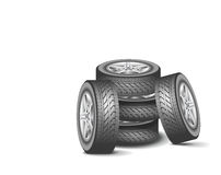 Modern wheels. Stock Photography
