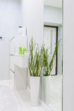 Modern white apartment hallway Royalty Free Stock Images