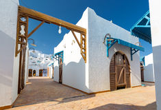 Free Modern White Apartments At Tropical Luxury Holiday Resort In Egypt Stock Images - 65532254