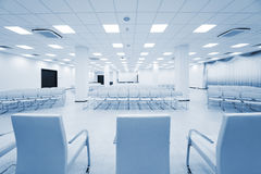 Modern white auditorium Stock Photo