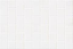 Modern white bricks mosaic Royalty Free Stock Photo