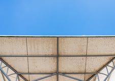 Modern white canopy Stock Image