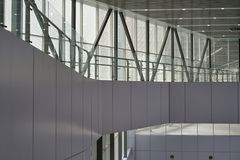 Kuala Lumpur Central station modern corridor stock images