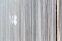 Modern white curtain Royalty Free Stock Image